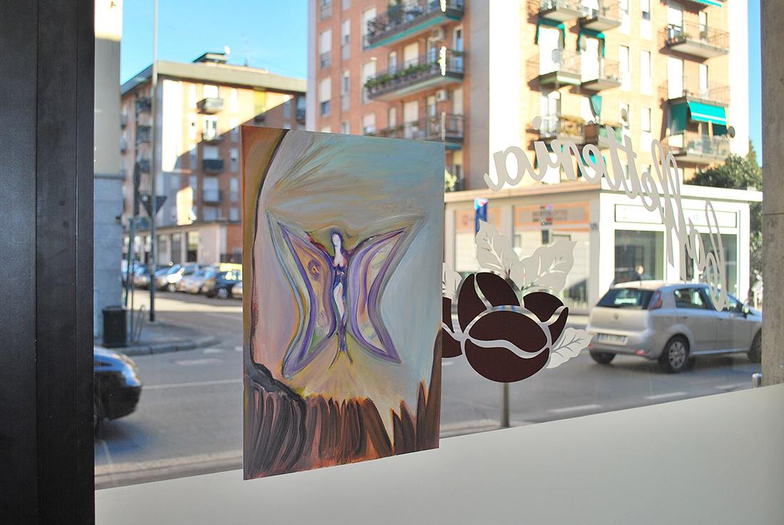 """MARCO TEMPESTA """"La fata fantasia"""", 2007 - Oil on paper"""